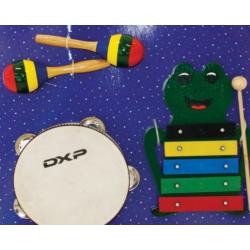 DXP Rhythm Percussion Outfit 3Pc Set