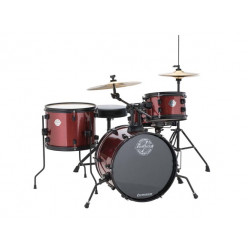 Ludwig Pocket Kit Including cymbals Wine Red Sparkle L5LC178XO25DIR