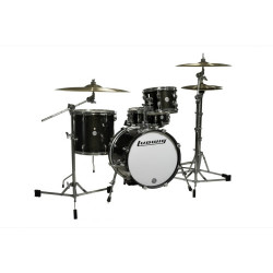 Ludwig Breakbeats 4 Piece Shell Pack Black Gold Sparkle