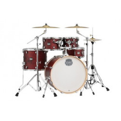 Mapex MA529SFCX Mars 5-Piece Special Edition Drum Kit with 22in Bass Drum in Cherry Red