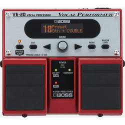 BOSS VE-20 Vocal Performer Effects Processor