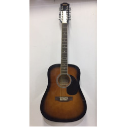 Redding 12 String Acoustic Electric Guitar Tobacco Sunburst