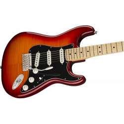 Fender Player Plus Top Stratocaster in Aged Cherry Burst