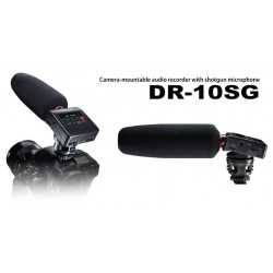 Tascam Camera Mount Shotgun Microphone Recorder