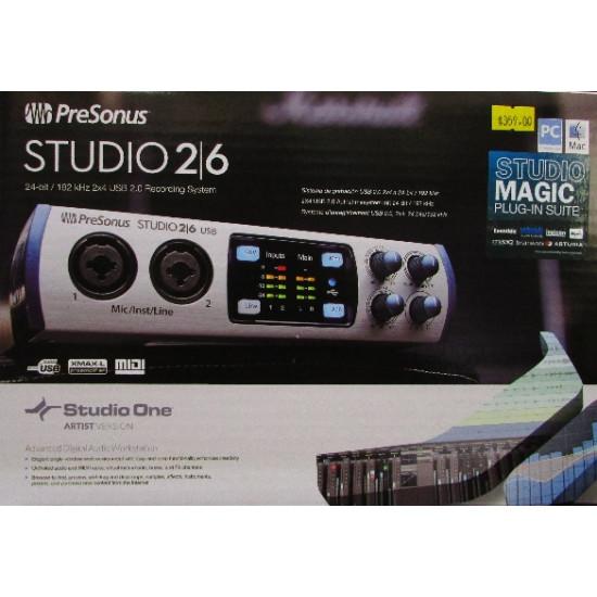 Presonus Studio 2/6 USB Interface