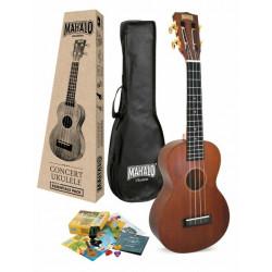 Mahalo Java Concert Essentials Ukulele Pack