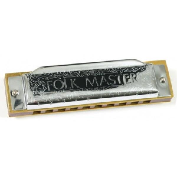 Suzuki Folkmaster Harmonica Key C