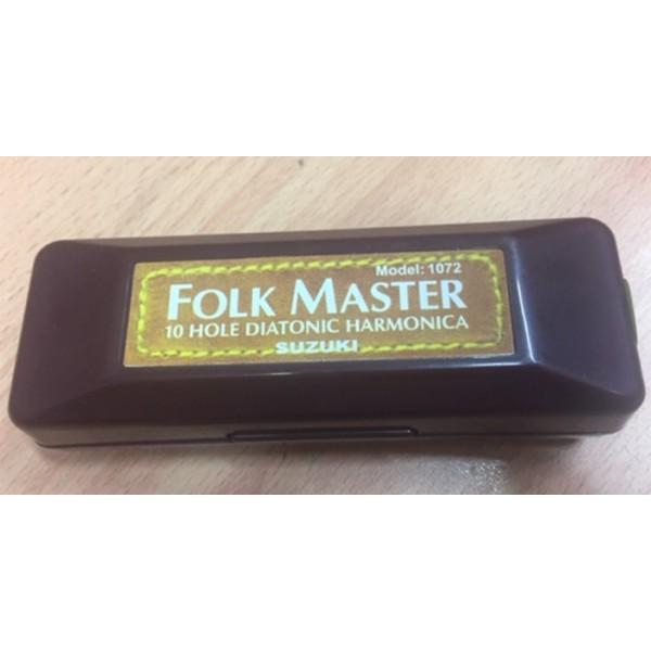 Suzuki Folkmaster Harmonica Key A