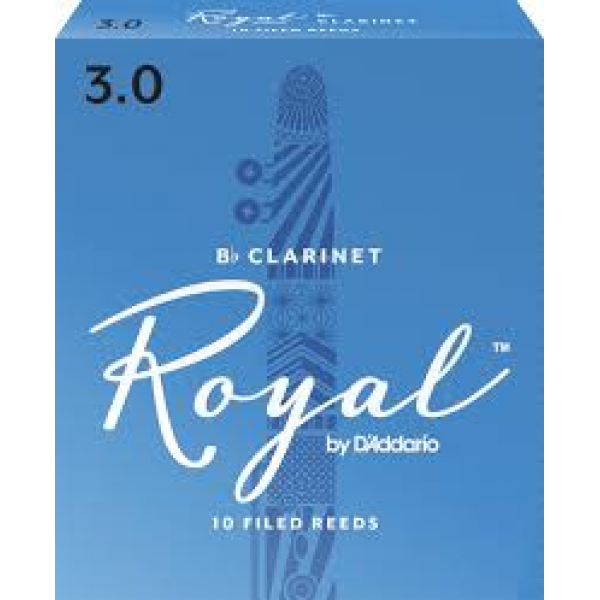 Rico Royal Reeds Bb Clarinet Box 10 3.0