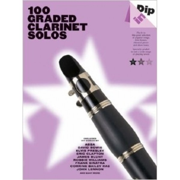 100 Graded Clarinet Solos Dip In Series