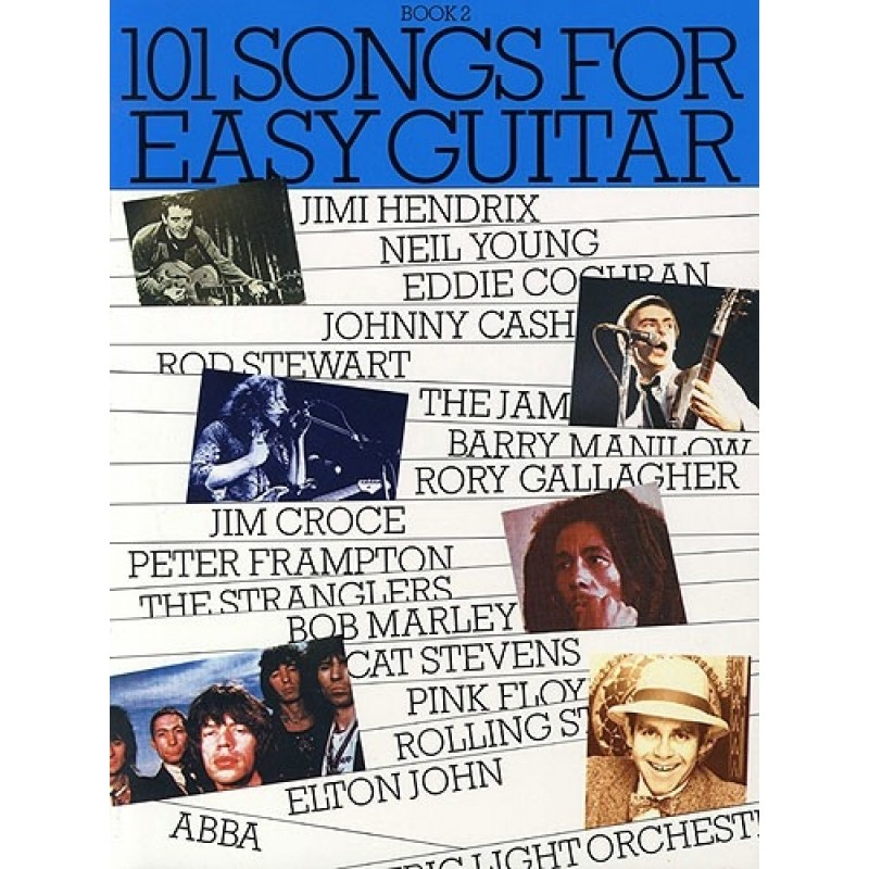 101 Songs Ms03539 Easy Guitar Book 2