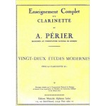 22 Modern Etudes for Clarinet