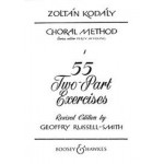 55 Two-Part Exercises by Zoltan Kodaly