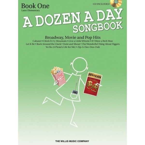 A Dozen A Day Book One Songbook Later Elementary Book and CD