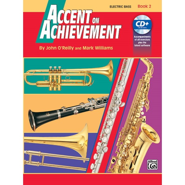 Accent On Achievement Bk2 Electric Bass Interactive CD