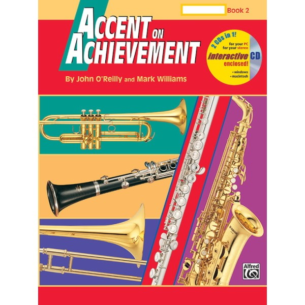 Accent On Achievement Bk2 Flute Interactive CD