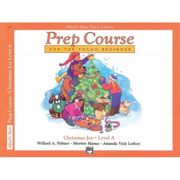 Alfred's Basic Piano Library Prep Course Christmas Joy Level A