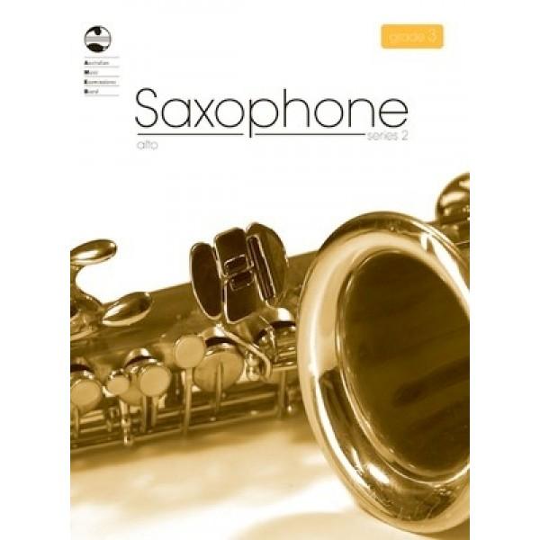 AMEB Alto Saxophone Series 2 Grade 3 Examination Book