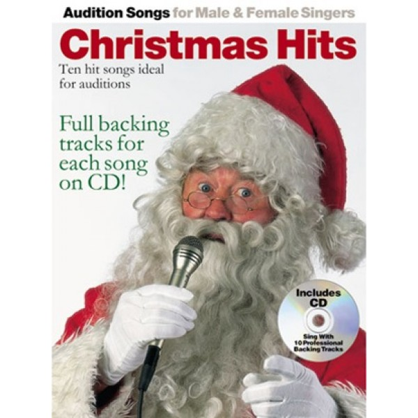 Audition Songs for Male & Female Singers Christmas Hits Book and CD