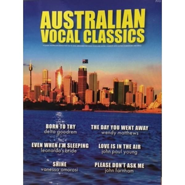 Australian Vocal Classics PVG