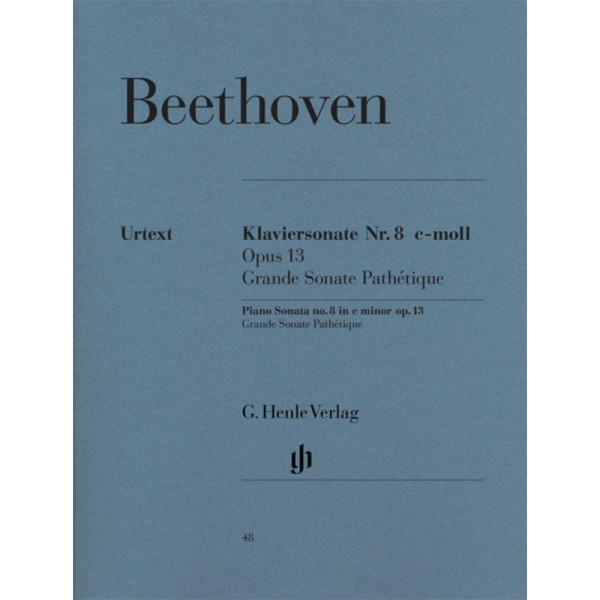 Beethoven Piano Sonata No. 8 C minor Op. 13 [Grand Sonata Pathetique]