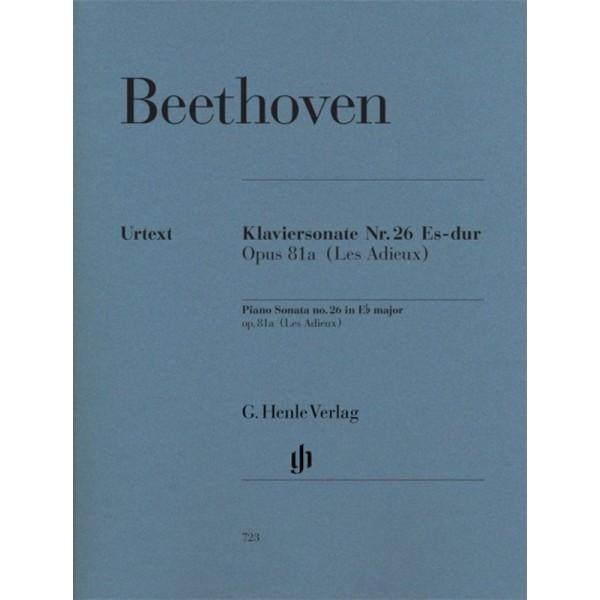 Beethoven's Piano Sonata No. 26 E flat major Op. 81a [Les Adieux]