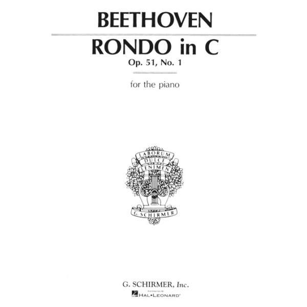 Beethoven Rondo In C Op 51 No 1
