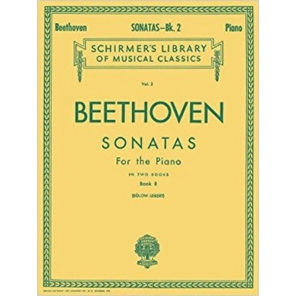 Beethoven Sonatas for the Piano Volume 2