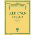 Beethoven Sonatas for the Piano Volume 1