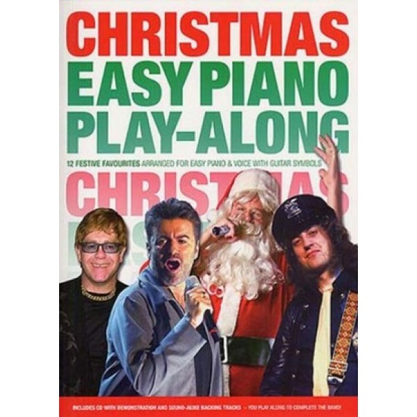 Christmas Easy Piano Play-along Book and CD