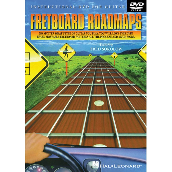 Fretboard Roadmaps for Guitar DVD