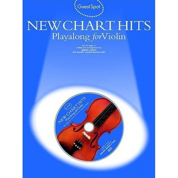 Guest Spot New Chart Hits Playalong for Violin