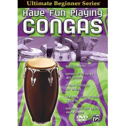 Have Fun Playing Congas DVD