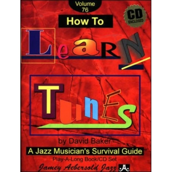 How to Learn Tunes Volume 76 Book and Cd