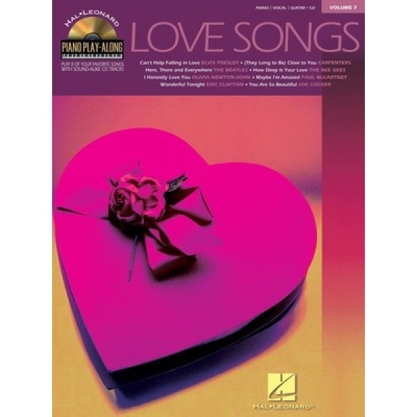 Love Songs Volume 7 Piano Playalong Book and CD