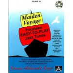 Maiden Voyage Fourteen Easy to Play Jazz Tunes Volume 54 Book and CD