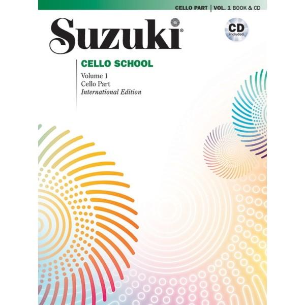 Suzuki Cello School Volume 1 Book and CD
