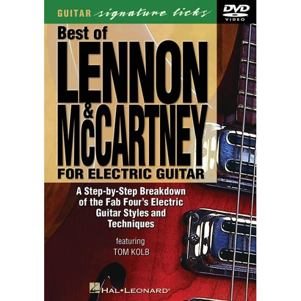 Best of Lennon & McCartney for Electric Guitar DVD
