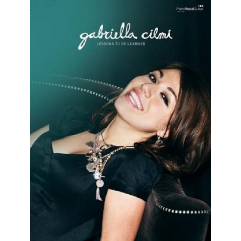 Gabriella Cilmi Lessons To Be Learned Print Album For Piano Vocals