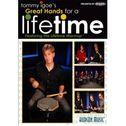 Great Hands for a Lifetime DVD Drums Tommy Igoe