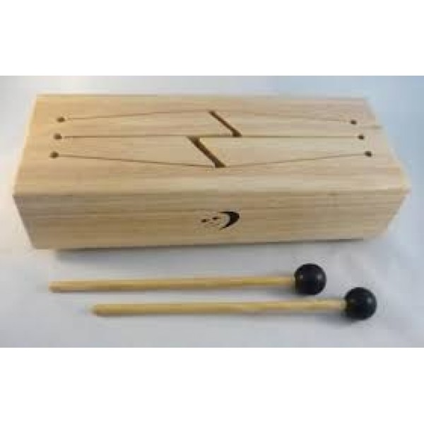 4 Keys Log Drum with Mallets