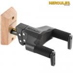 Hercules Guitar Hanger GSP38WB Auto Grip System Wood Base, Short Arm