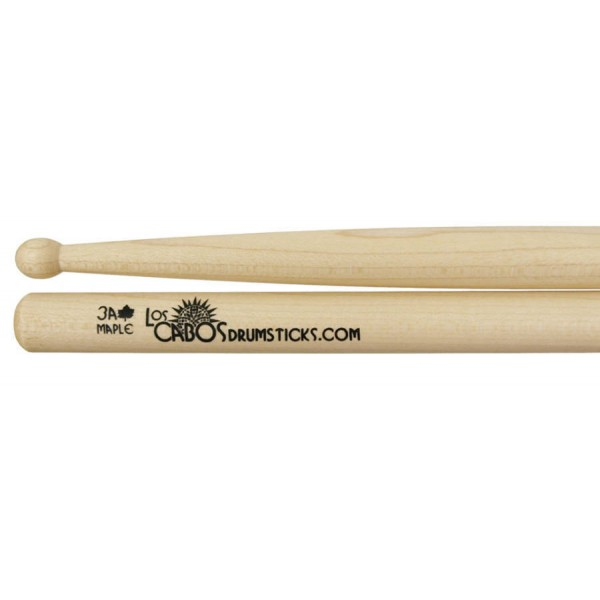 Los Cabos 3A maple drumsticks