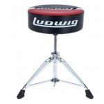 Ludwig L6Lap51Th Atlas Pro Round Red/Black Drum Throne