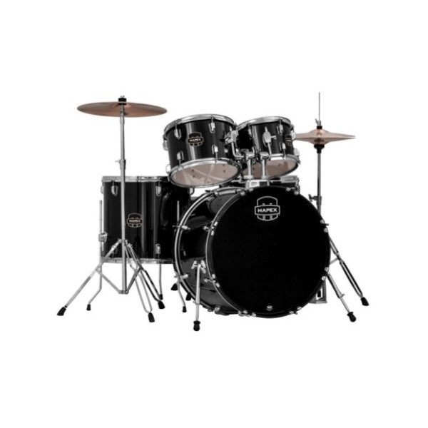 Mapex Deluxe Prodigy Royal Blue 20 10 12 14F w/ Cymbals & Throne