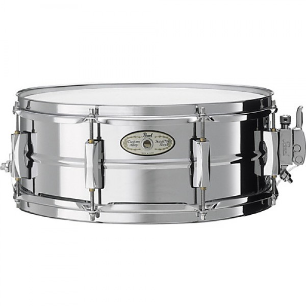 "Pearl Sensitone Steel 14x5.5"" Snare"