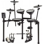 Roland TD1DMK V-Drum Kit with Double-Mesh Drum Heads for Snare and Toms