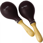 Tycoon Percussion Maracas Black Plastic