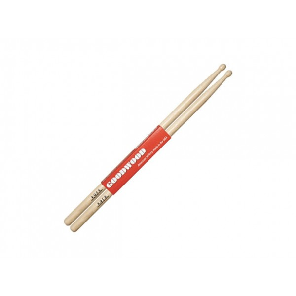 "GOODWOOD DRUM STICKS ""By Vater"" (ROCK WOOD-TIP)"