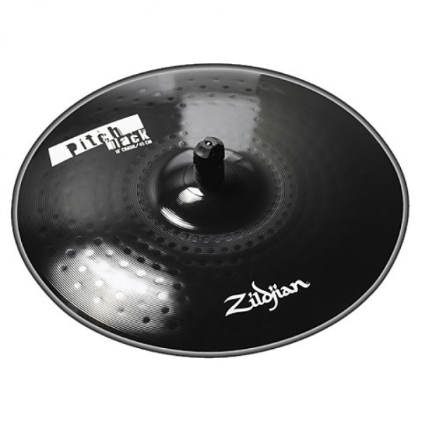 "Zildjian 18"" Pitch Black Crash"